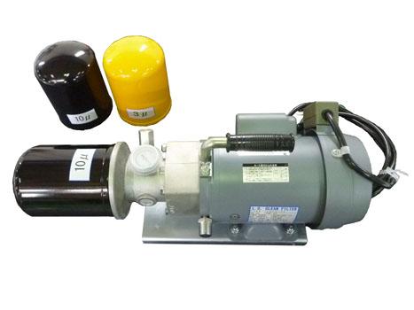 デッキクレーン用潤滑油の循環清浄用フィルター(持ち運び式) メーカー:コンヒラ